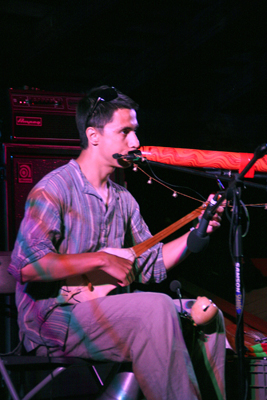 One-man band / multi-instrumentalist Bulat